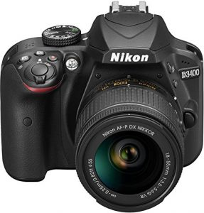 Cámara de fotos Nikon D3400
