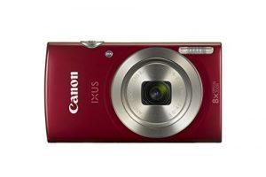 Digital ixus 185 cámara compacta 20mp 1/2.3″ ccd 5152 x 3864pixeles rojo