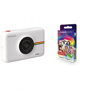 Snap touch cámara digital con impresión instantánea y pantalla lcd