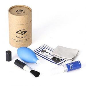Kit de limpieza cámara 5-en-1 para cámaras réflex digitales y electrónica sensible