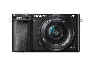 Cámara de fotos Evil Sony A6000