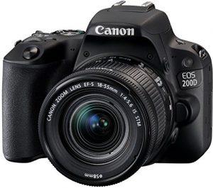 Cámara de fotos Canon 200D