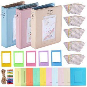 23-en-1 kit de accesorios marcos y pegatinas para fujifilm instax mini 9 8 8