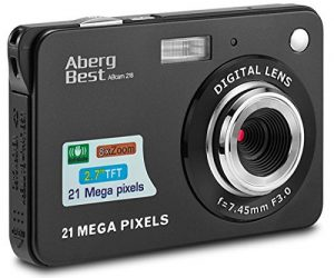 Cámara de fotos compacta AbergBest
